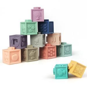 Baby to Love Εκπαιδευτικοί 3D Κύβοι BLT350543