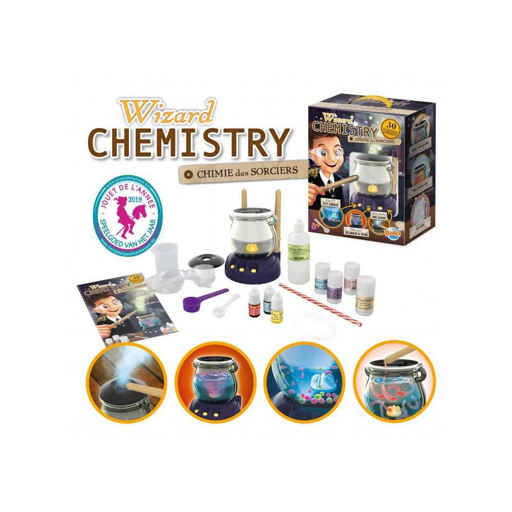 Buki Chemistry Wizard Εργαστήριο Χημείας 30 Πειράματα (BUK-8366)