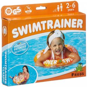 FREDS SWIM ACADEMY Σωσίβιο Swimtrainer Orange 2-6 Ετών 04002
