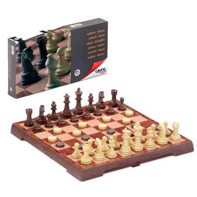 Κλασσικό Μαγνητικό Σκάκι- Ντάμα Μεσαίο (CA453)
