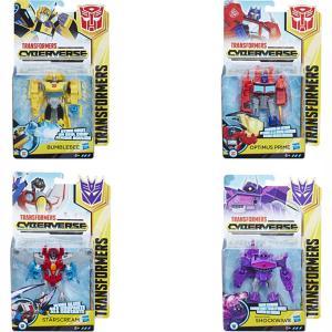 Hasbro Transformers Bumblebee Cyberverse Adventures Φιγούρες 13cm Διάφορα Σχέδια