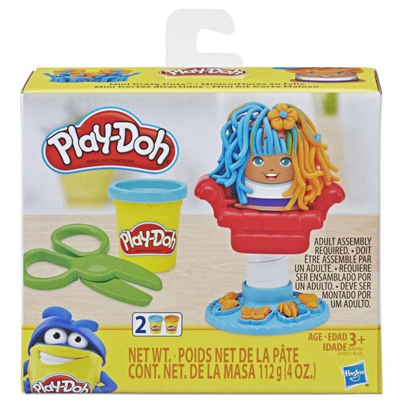 Hasbro Play-Doh Mini Classics Crazy Cuts Barbershop E4918