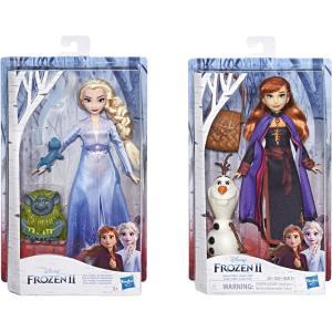 Hasbro Disney Frozen II Storytelling Κούκλα & Φιγούρα -2 Σχέδια E5496