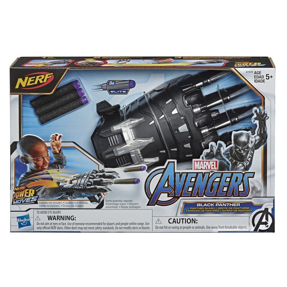 Hasbro Nerf Avengers Power Moves Black Panther E7372