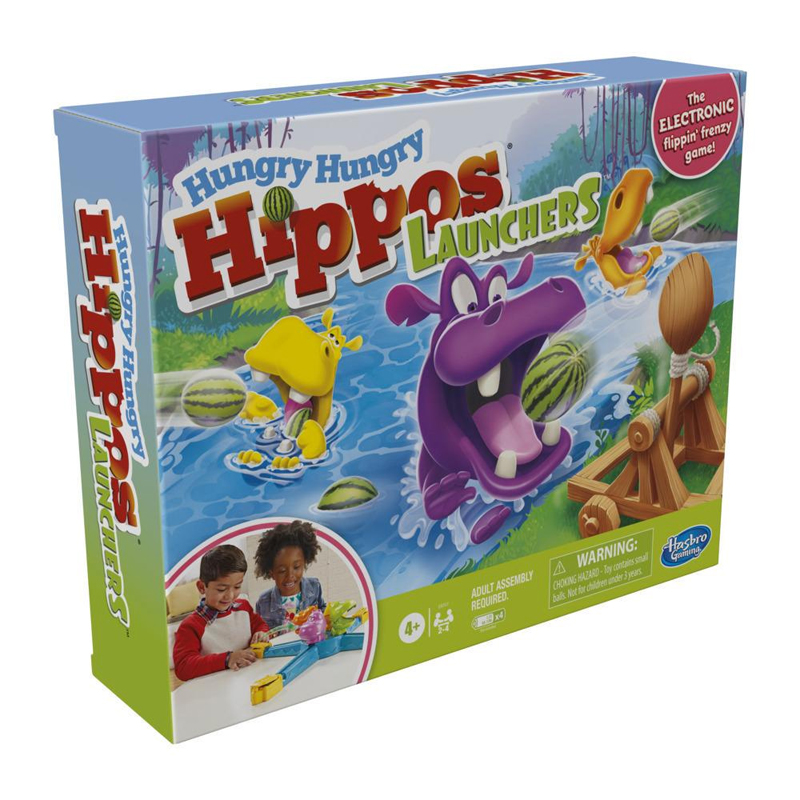 Hasbro Επιτραπέζιο Hungry Hippos Launchers E9707