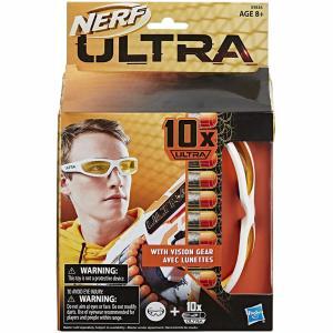 Hasbro Nerf Ultra Vision Gear & 10 Darts E9836