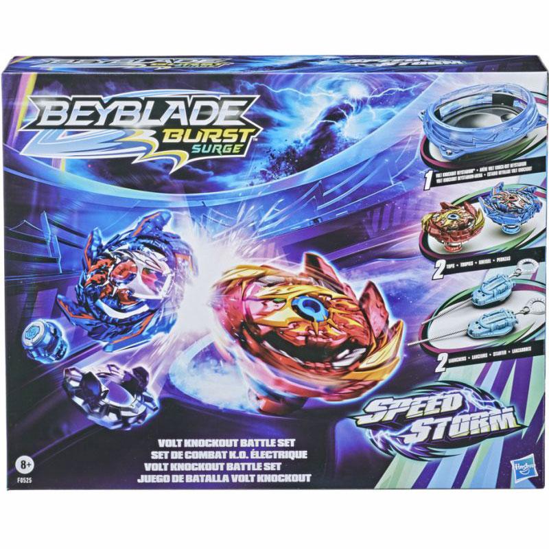 Hasbro Beyblade Speedstorm Volt Knockout Battle Set (F0525 )