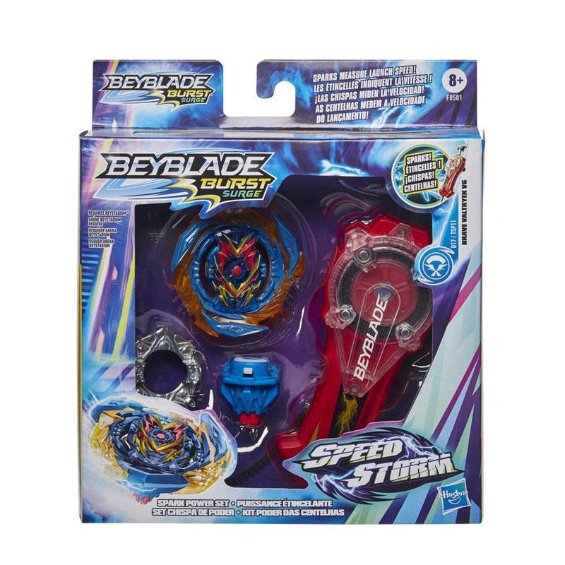 Hasbro Beyblade Speedstorm Spark Power Set F0581