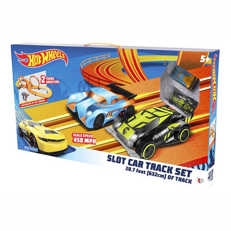 Hot Wheels Αυτοκινητόδρομος Slot Car X 2- 6.32m