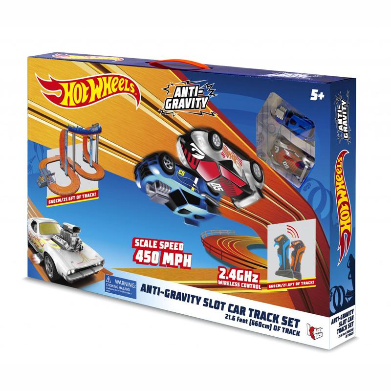 Kidz Tech Hot Wheels Slot Zero Gravity Car x 2 – 6,60m 83161