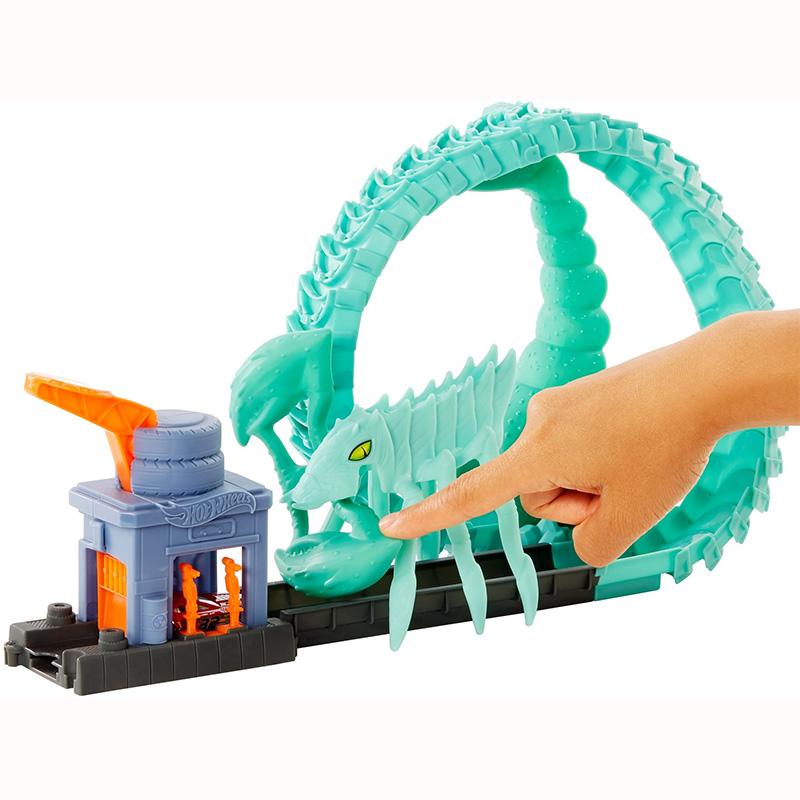 Mattel Hot Wheels Πίστες City Με Τέρατα - Διάφορα Σχέδια FNB05