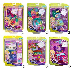 Mattel Polly Pocket Μίνι Ο Κόσμος της Polly Σετ (FRY35)