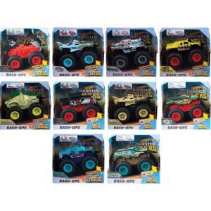 Mattel Hot Wheels Οχήματα Σύγκρουσης Monster Trucks- Διάφορα Σχέδια (GCF94)