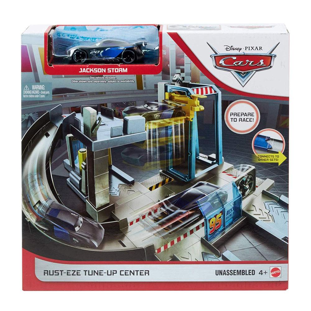 Mattel Cars Σετ Παιχνιδιού - Αγωνιστικό Συνεργείο (GJW43)