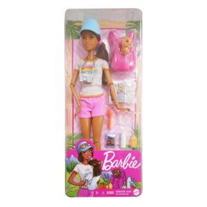 Mattel Barbie Wellness Ημέρα Ομορφιάς -  3 Σχέδια GKH73