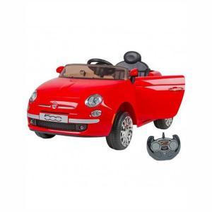 Globo Fiat 500 Ηλεκτρονίνητο 12v Τηλεκατευθυνόμενο Κόκκινο