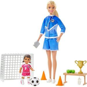 Mattel Barbie Σετ Αθλητικά Επαγγέλματα - 3 Σχέδια GLM53