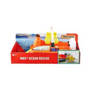 Mattel Matchbox Rescue Adventure Set Με Βάρκα Διάσωσης Άγριων Ζώων (GMH68)