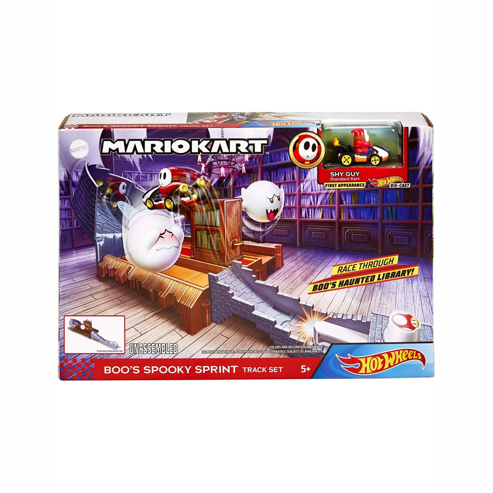 Mattel Hot Wheels Mario Kart Πίστα Επιπέδων GCP26