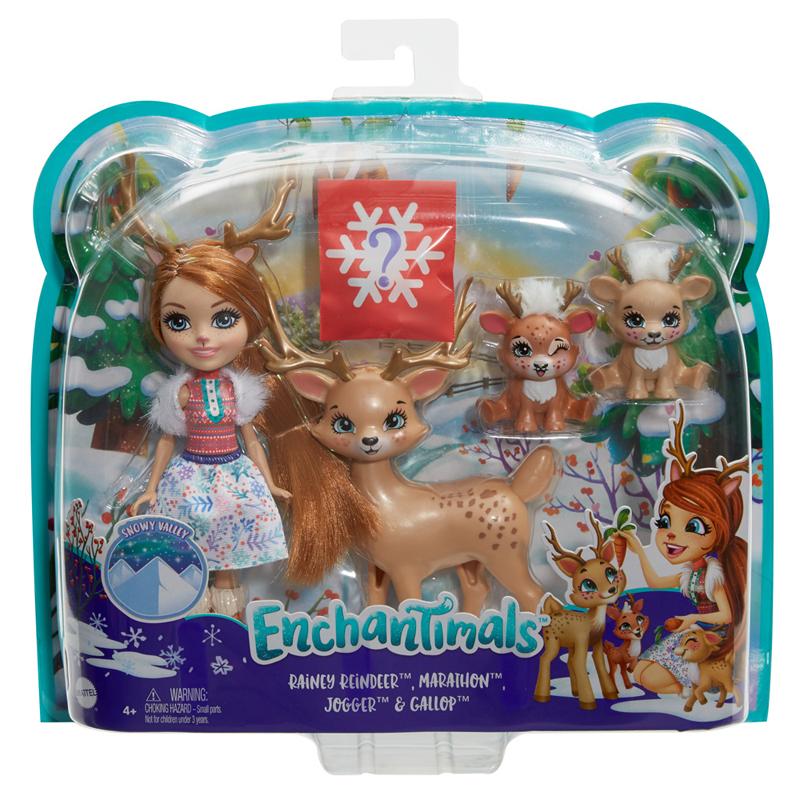 Mattel Enchantimals - Κούκλα & Ζωάκια Φιλαράκια (Διάφορα Σχέδια) GJX43