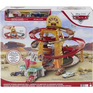 Mattel Cars Σετ Παιχνιδιού Radiator Springs Mountain Race- Τα μπουζί της Ωραίας Ελένης (GTK90)