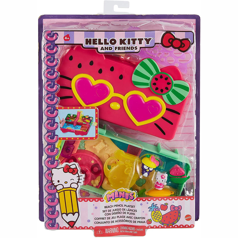 Mattel Hello Kitty - Κασετίνα & Σετ Παιχνιδιού (2 Σχέδια) GVC39