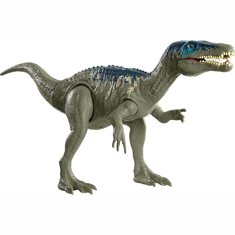 Mattel Jurassic World Δεινόσαυρος με κινούμενα Μέλη Λειτουργία Επίθεσης & Ήχους- Διάφορα Σχέδια (GWD06)
