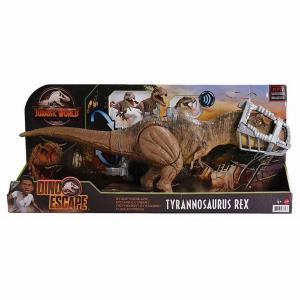 Mattel Jurassic World Δεινόσαυρος T-Rex που Περπατάει και Απελευθερώνεται GWD67