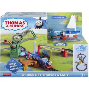 Fisher Price Thomas The Train Περιπέτεια Στη Γέφυρα Με Τον Τόμας Και Τον Σκιφ