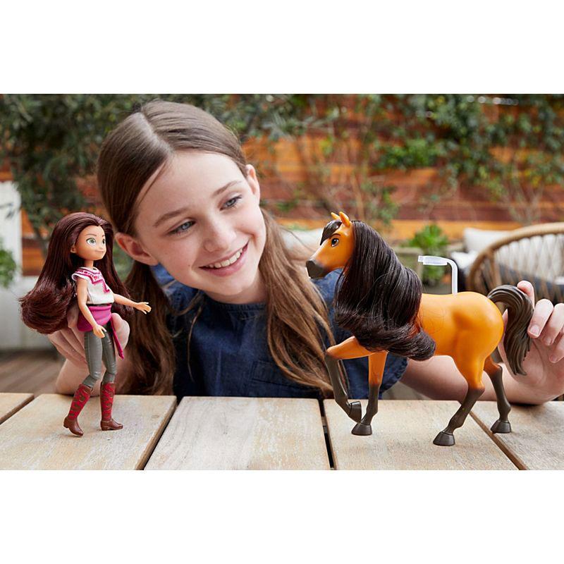 Mattel Spirit Untamed - Σετ Άλογο Με Κούκλα  Σχέδια GXF20