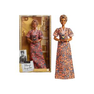 Mattel Barbie Inspiring Women Συλλεκτική Κούκλα - Maya Angelou GXF46