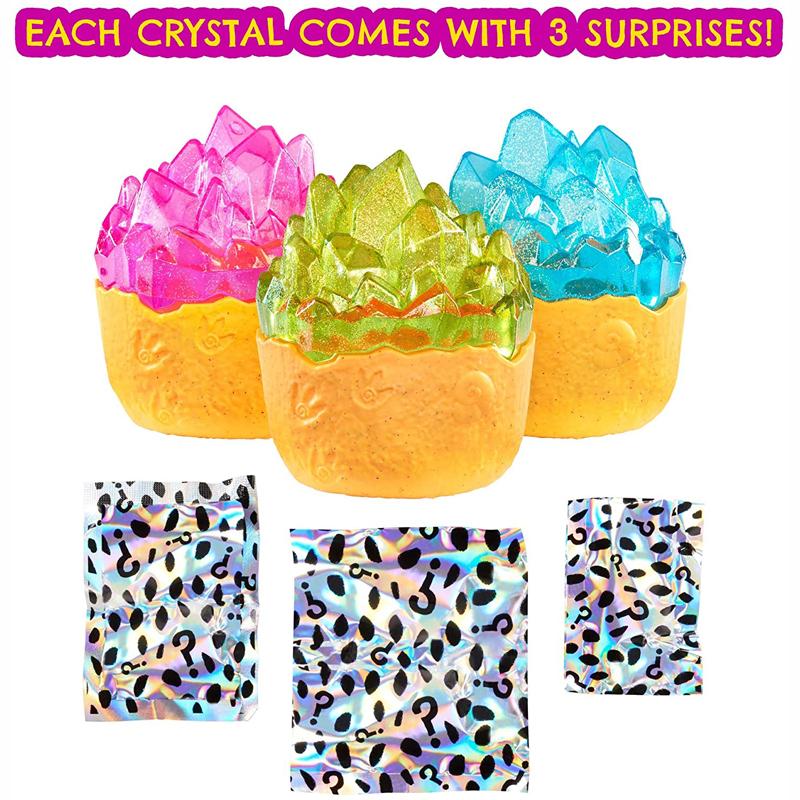 Mattel Cave Club - Δεινοσαυράκια Σε Αβγό - Glitter Series - Διάφορα σχέδια