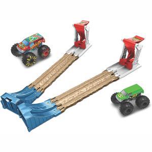 Mattel Hot Wheels Σετ Παιχνιδιού Monster Trucks 3 σε 1 GCY80