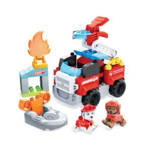 Mega Bloks® Paw Patrol Marshall's City Fire Rescue- Μάρσαλ & Ζούμα με Πυροσβεστικά Οχήματα (GYJ01)