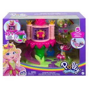 Mattel Polly Pocket Rainbow Funland- 2 σχέδια (GYK41)