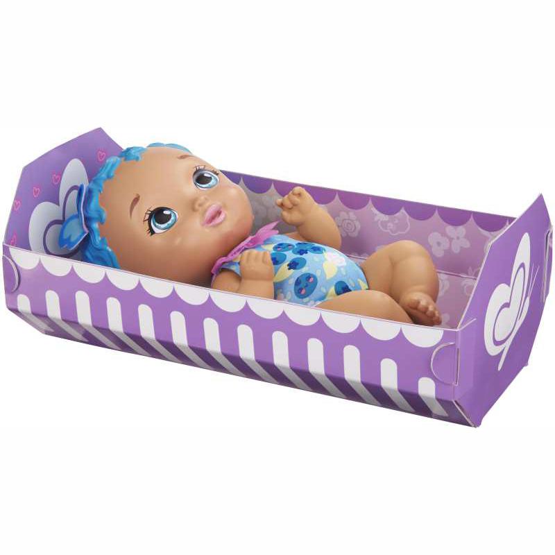 Mattel My Garden Baby- Μωράκι Ώρα για Φαγητό- Μπλε Μαλλιά (GYP01)