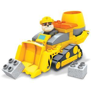 Mega Bloks® Paw Patrol  Rubble's City Construction Truck - Ράμπλ & Μπουλντόζα (GYW91)