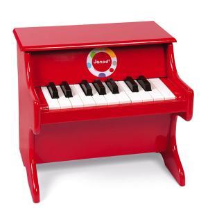 Janod Confetti Κόκκινο Πιάνο J20851