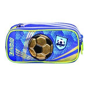 Kalgav Κασετίνα Ποδόσφαιρο Μπλε KG0378