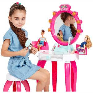Theo Klein 5328 Barbie Beauty Salon with Light and Sound Functions