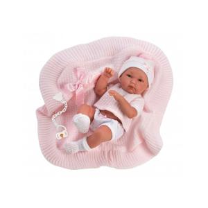 Llorens Μωρό Νεογέννητο με Κουβερτούλα 35cm (LIO-63562)