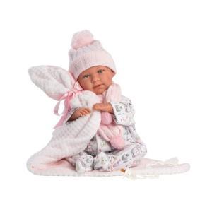 Llorens Newborn Μωρό με Κουβερτούλα 42εκ (LIO-74084)