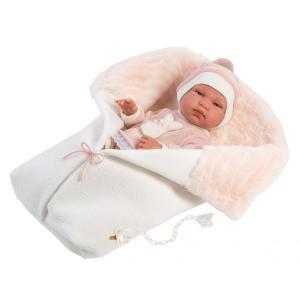 Llorens Μωρό Newborn Κορίτσι με Κουβερτούλα (LIOK-84324)