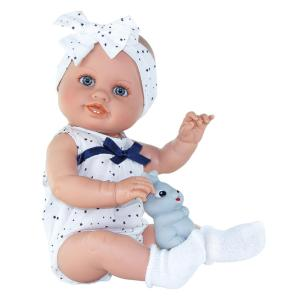 Magic Baby Daniela with White Bow 45cm MB46132