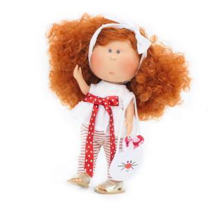 Nines D'Onil Κούκλα Mia με Κόκκινα Μαλλιά (NDO-3062)