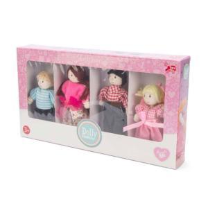 Le Toy Van Οικογένεια Dolly 4 Τεμάχια P053