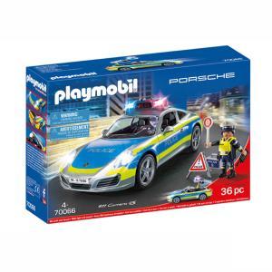 Playmobil Porsche 911 Carrera 4S Αστυνομικό όχημα 70066