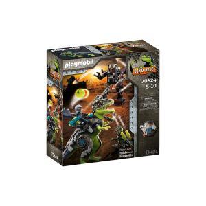 Playmobil T-Rex: Η μάχη των γιγάντων 70624