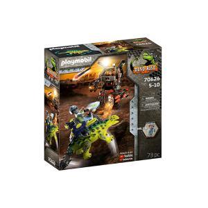 Playmobil Αγκυλόσαυρος με μαχητή εναντίον ρομπότ