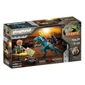Playmobil Δεινόνυχος με τον θείο Rob 70629